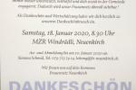 Dankeschön-Essen Januar 2020
